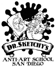 Dr Sketchy's Anti-Art School San Diego. www.drsketchysandiego.com